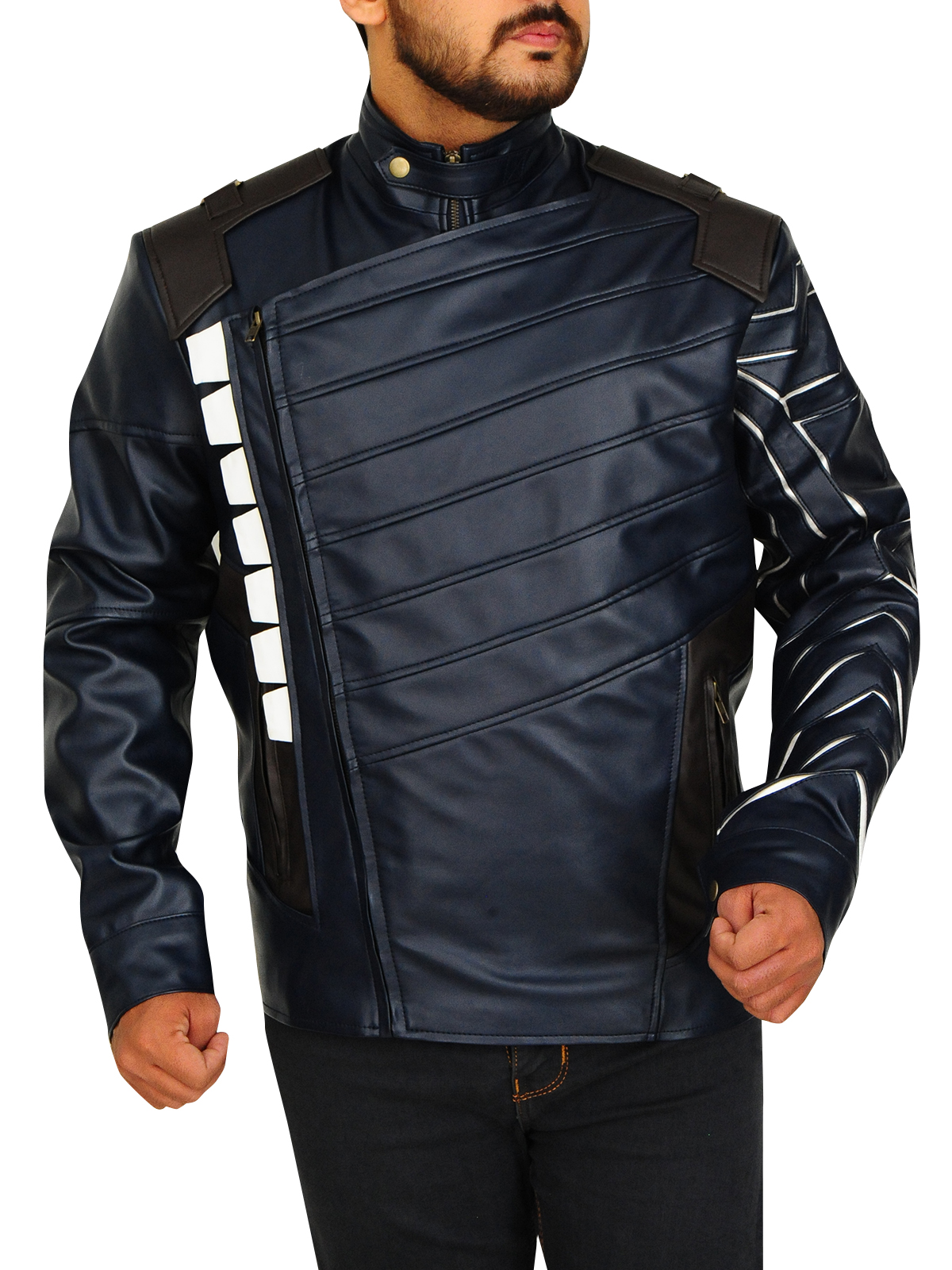 Avengers Infinity War Winter Soldier Jacket