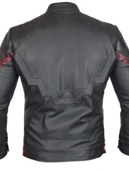 Captain America Slim Fit Zipper Motorcycle Jacket