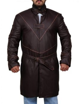 Watch Dogs Coat, Aiden-Pearce Men coat