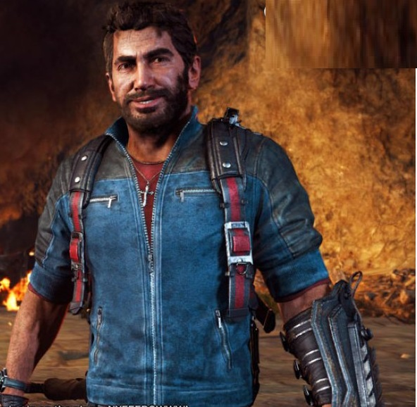Rico-Rodriguez-Video-Game-Leather-Jacket