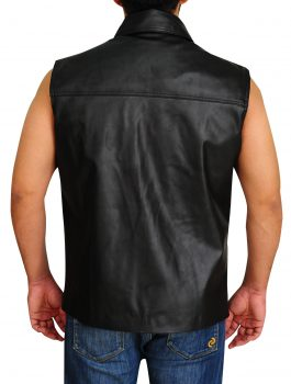 Mark-William-WWE-Leather-Vest