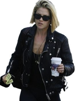 Women Fashion, Ladies Black Leather Jacket