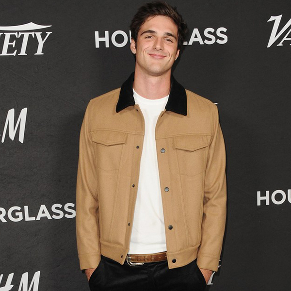 Jacob Elordi Variety Event Tan Brown Cotton Jacket