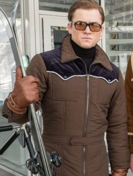 Kingsman The Golden Circle Eggsy Brown Jacket
