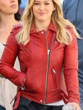 TV Series Hilary Duff Kelsey YoungerLeather Jacket