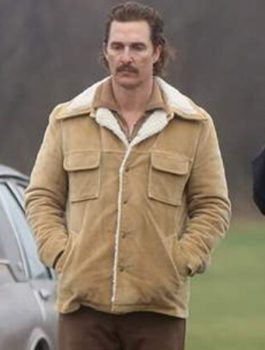 Matthew McConaughey White Boy Rick Cotton Jacket