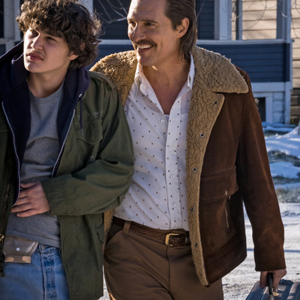 Matthew McConaughey White Boy Rick Suede Leather Faux Fur Jacket - Shearling Style