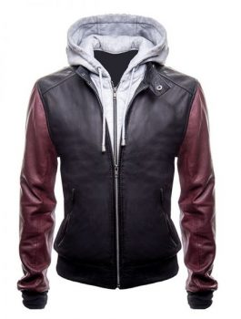 The-Flash-Barry-Allen-Hooded-Leather-Jacket