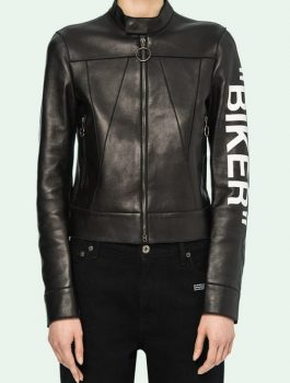 Women-Fashion-Biker-Style-Leather-Jacket