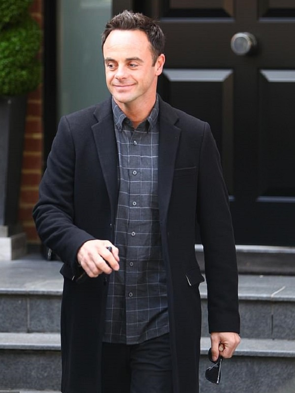 England-Actor-Anthony-McPartlin-Wool-Trench-Coat