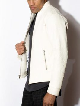Men's-White-Stand-Up-Collar-Jacket