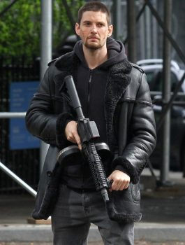 The-Punisher-Billy-Russo-Black-Leather-Coat