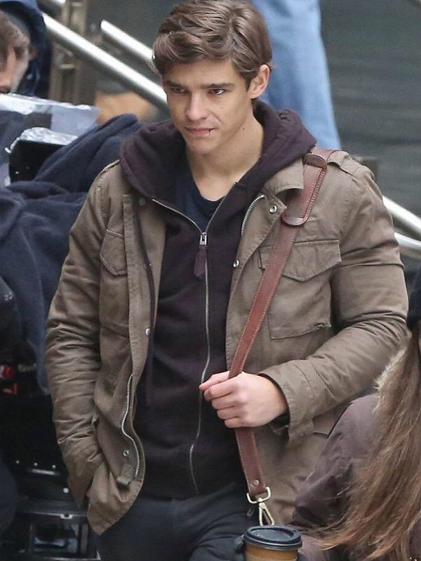 Brenton-Thwaites-Titans-Brown-Cotton-Jacket