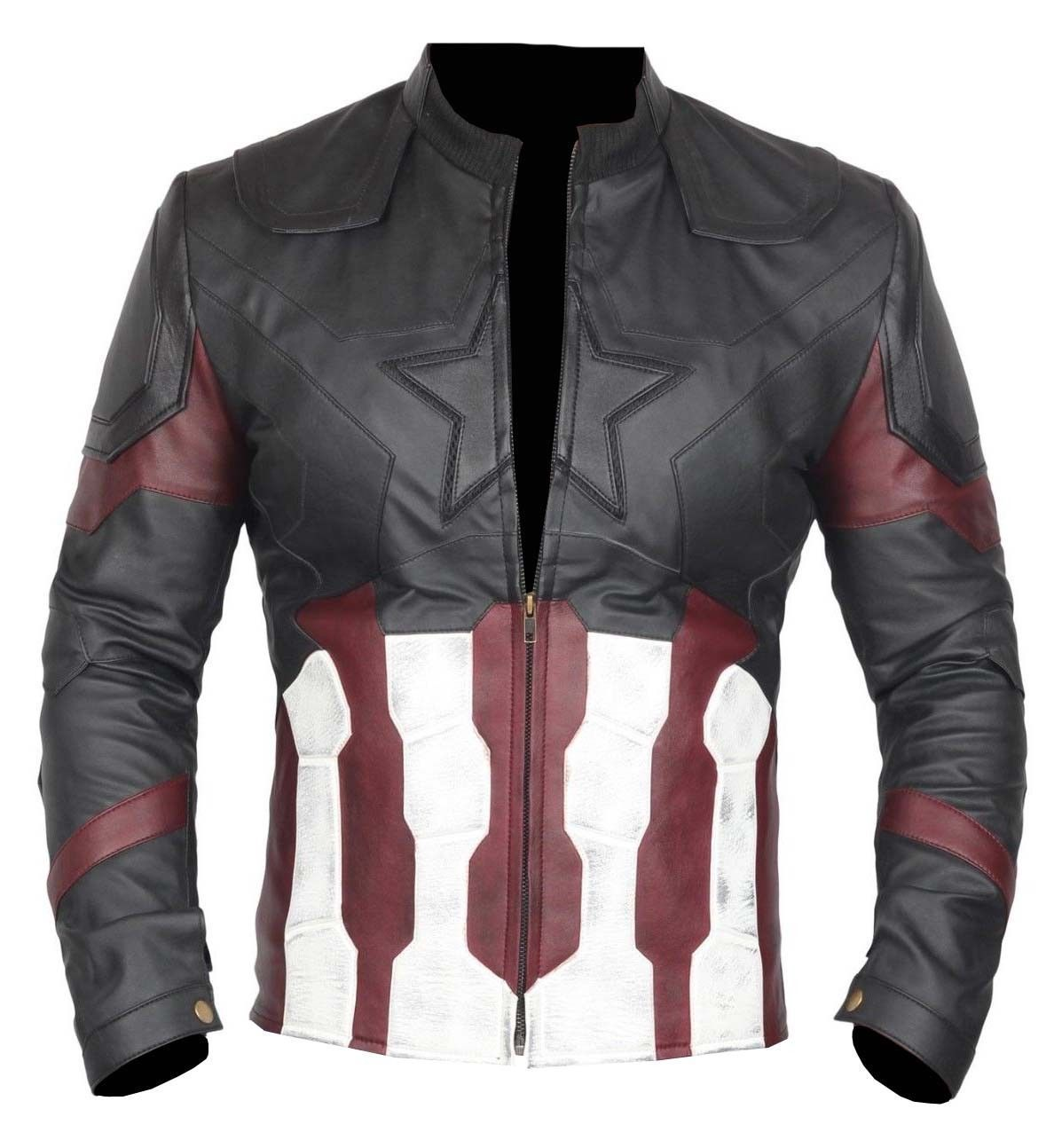 Captain America Avengers Infinity War Leather Jacket