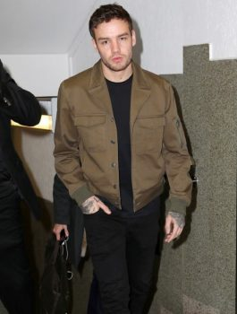Liam-Payne-Brown-Cotton-Jacket