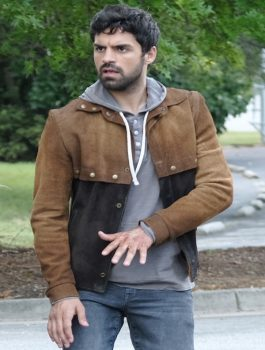 Sean-Teale-The-Gifted-Brown-Suede-Jacket-F-O