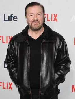 Comedy-Series-Netflix-Ricky-Gervais-Leather-Jacket