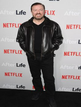 Ricky-Gervais-New-York-City-Black-Jacket