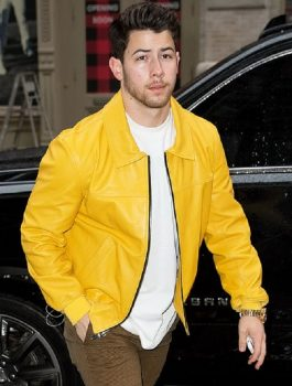 Nick-Jonas-American-Singer-Yellow-Jacket