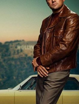 Leonardo_Dicaprio jacket, Leather Jacket