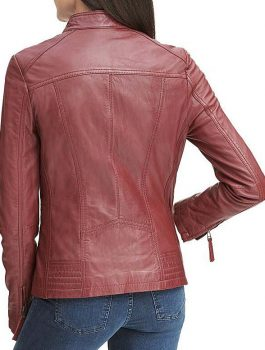Vintage Leather Jacket, ladies jacket