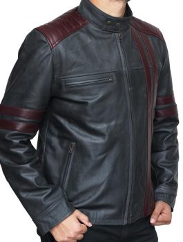 Leather Jacket, Cafe Racer Jacket