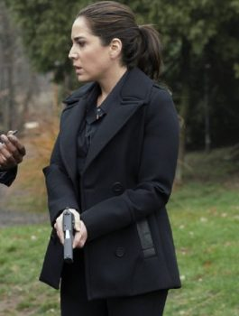 Women Black Coat, Audrey Esparza Stylish Coat