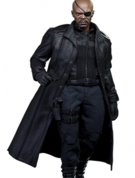 Avengers Coat, Men's Black Coat