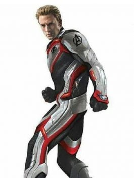 Avenger Cosplay Leather Jacket, Movie Jacket