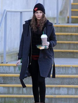 Women Coat, Willa Holland Blue Coat