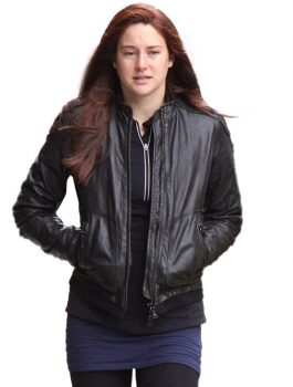 Amazing Spiderman 2 Shailene Woodley Black Jacket