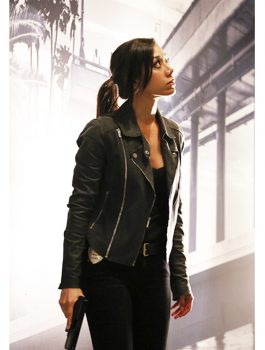 Aimee Garcia Leather Jacket, Women Jacket