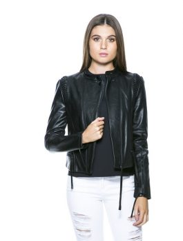 women jacket, leather jacket for women