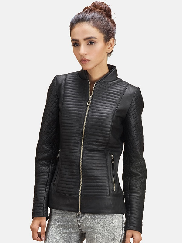 Women Jacket, Black Leather Jacket