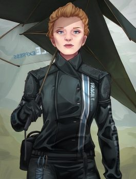 Death Stranding Jacket, Gaming Women Costume Jacket