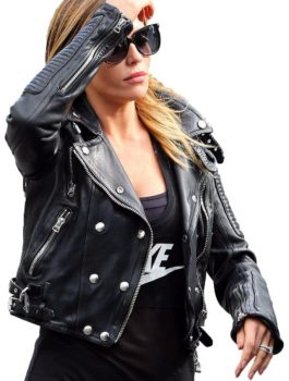 Abbey-Clancy-Biker jacket, women jacket