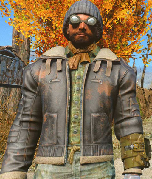 Fallout 4 Leather Jacket, Gaming Jackets