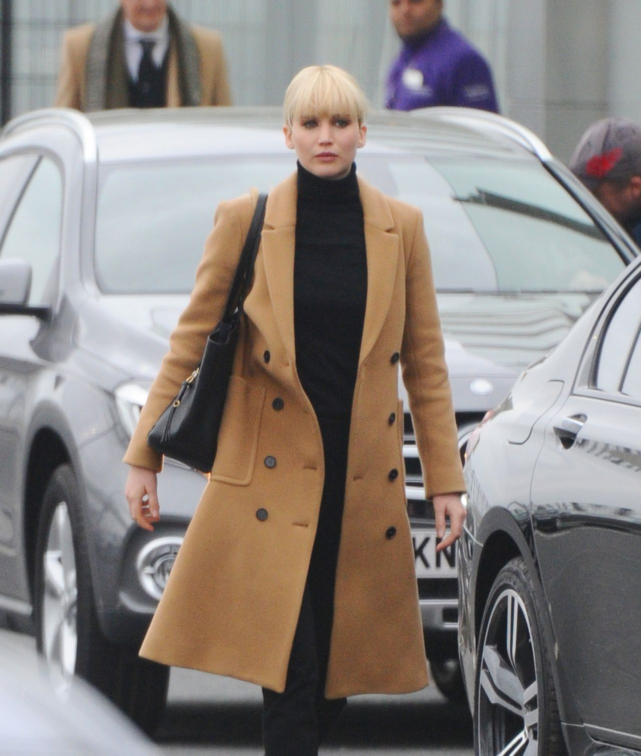 Red Sparrow Trench Coat, Jennifer Lawrence Coat