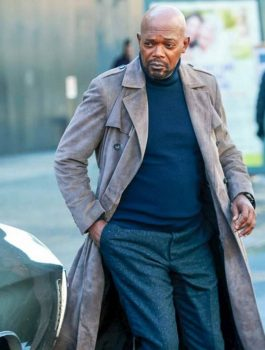 Samuel Jackson Coat, Coat For Men
