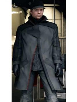 Watch Dogs Leather Coat, Games Cosplay