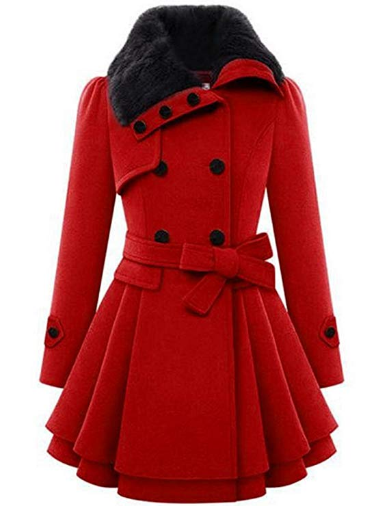 Women Trench Coat, christmas coat for women