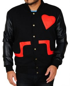 Valentine Day Leather Jacket, Jacket For Men
