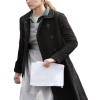 Emma Watson Coat, Black Coat For Women