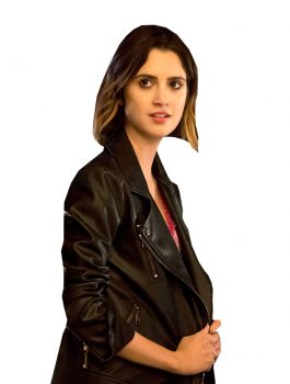 Laura Marano The Perfect Date Leather Jacket