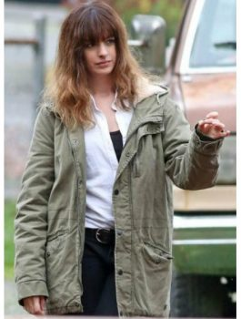Anne Hathaway Colossal Movie Jacket