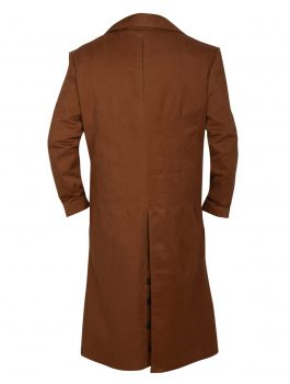 Buy Doctor Who Majestic Wool Trench Coat